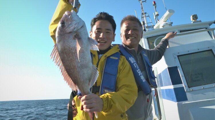 釣り人は大内田さん